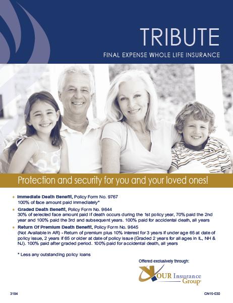 Tribute-Brochure