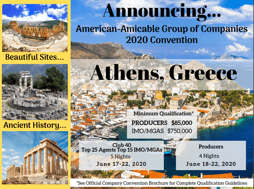 2020 Athens Greece Announcement