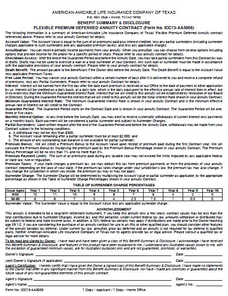 Ovation-Asset-Shield-Disclosure